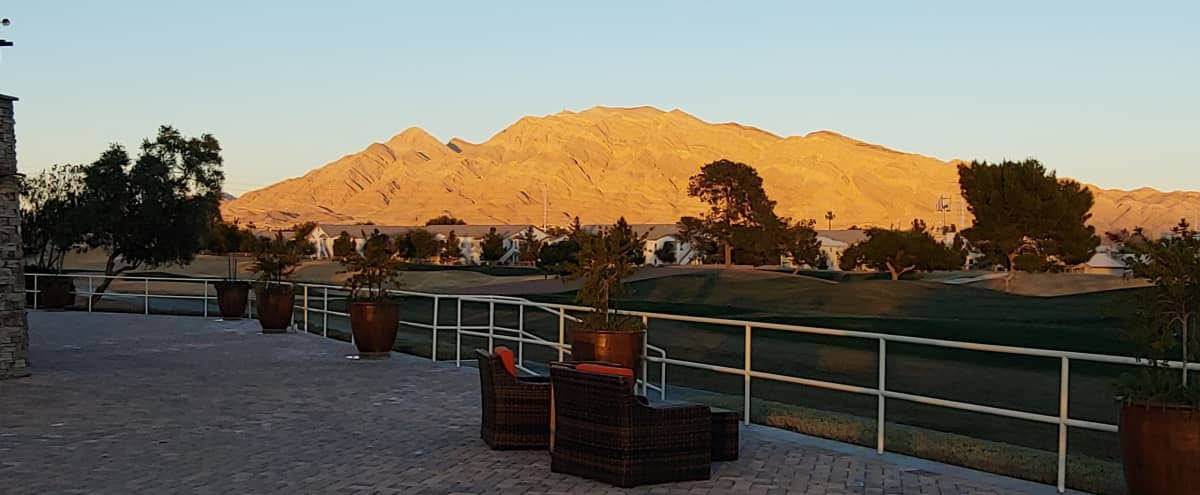Golf Course Event Lawn with View in Las Vegas Hero Image in undefined, Las Vegas, NV