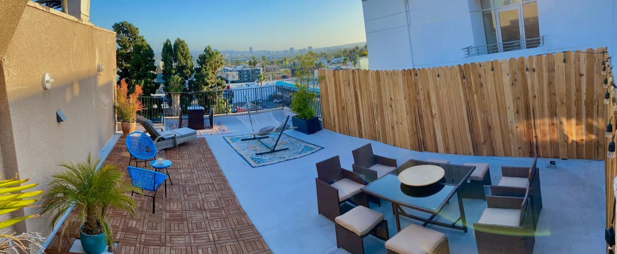 Open Rooftop with Amazing View - Hollywood - Pent House in Los Angeles Hero Image in Hollywood, Los Angeles, CA