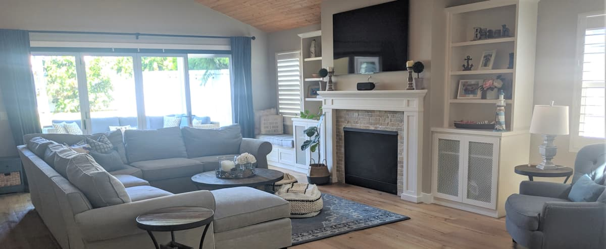Beautiful Beach Bungalow with Designer Touches, Retro Vibes, and Whimsy Outdoor Space in San Diego Hero Image in Pacific Beach, San Diego, CA