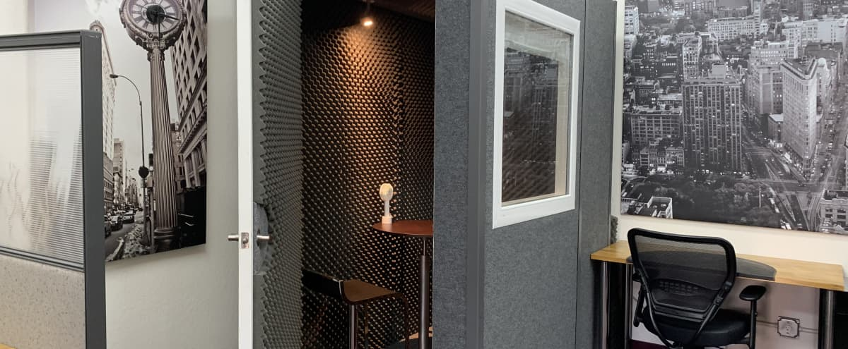 Spacious Audio Recording Booth in Mountain View Hero Image in undefined, Mountain View, CA