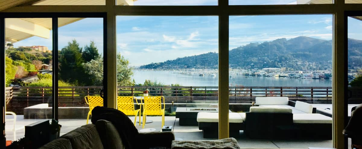 Mid-century Modern, Classic Eichler Home in Marin County with Rare Ocean/SF Views in Mill Valley Hero Image in undefined, Mill Valley, CA