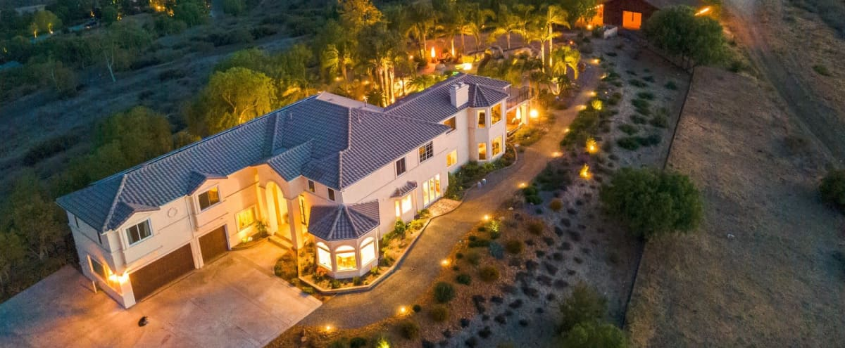 European Style Estate with Rustic Wooden Barn on 20 acres in Camarillo Hero Image in undefined, Camarillo, CA