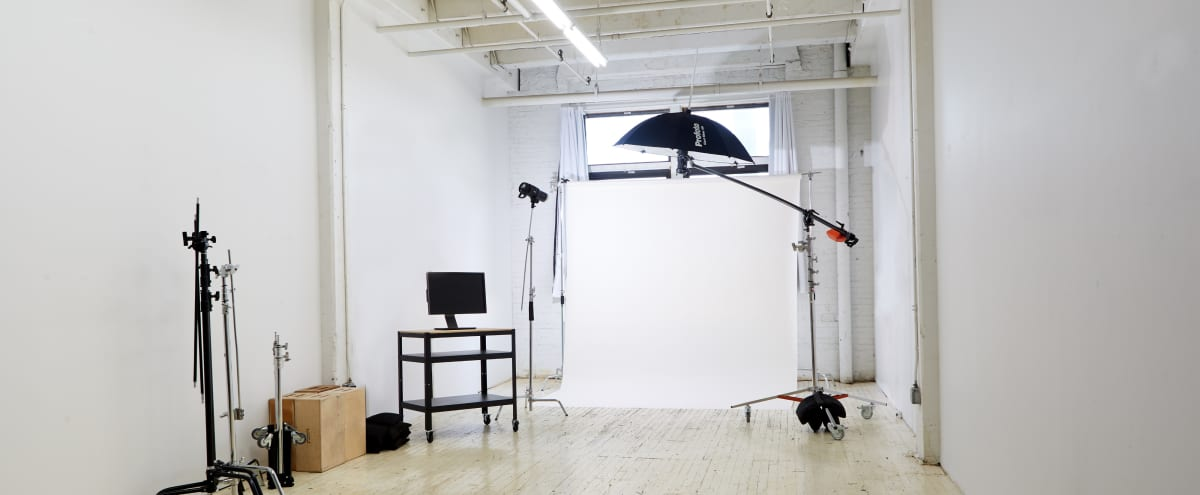 Private Spacious Production Space 700 sqft  Indoor | Gear Included | Ground Floor in Brooklyn Hero Image in East Williamsburg, Brooklyn, NY