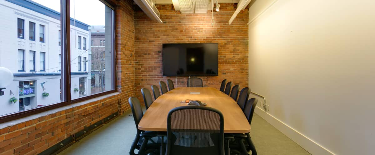 Medium Sized Meeting Space with City View in Seattle Hero Image in Pioneer Square, Seattle, WA