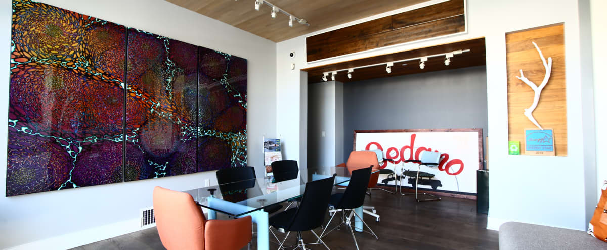 Industrial, Downtown Co-working Space with Natural Light in Las Vegas Hero Image in Arts District, Las Vegas, NV
