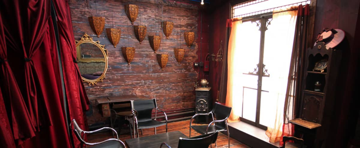 Tribeca Artist's Parlour/Lounge/Production Studio in New York Hero Image in Lower Manhattan, New York, NY