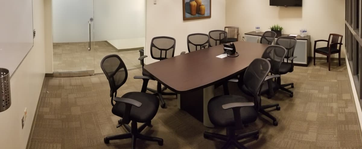 Production Conference Meeting & Presentation Room For 8 People in Atlanta Hero Image in Buckhead, Atlanta, GA