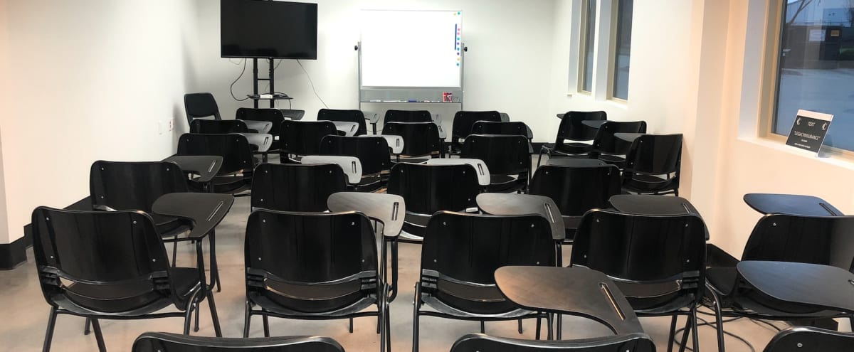 50 Person Classroom with Natural Light and Livestream Capabilities in East Point Hero Image in undefined, East Point, GA