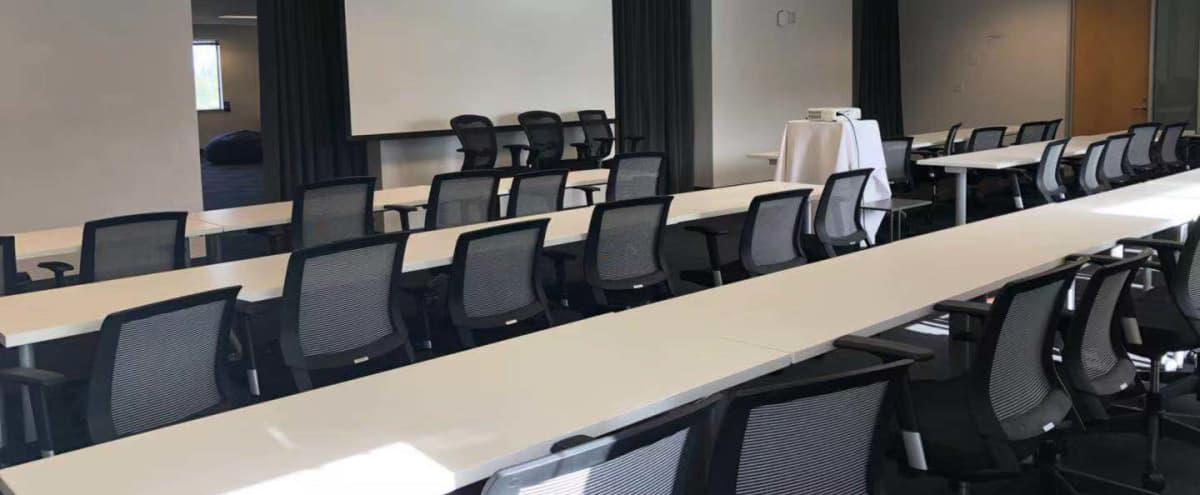 100 Person Off-Site, Event, Presentation Room in San Mateo in San Mateo Hero Image in East San Mateo, San Mateo, CA