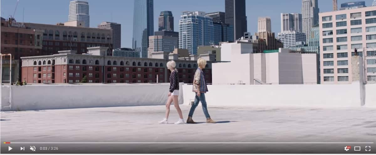 Dtla Fashion District, Rooftop, Photoshoot, White Setting, Great Lighting, View Of Dtla Skyline in Los Angeles Hero Image in Downtown, Los Angeles, CA