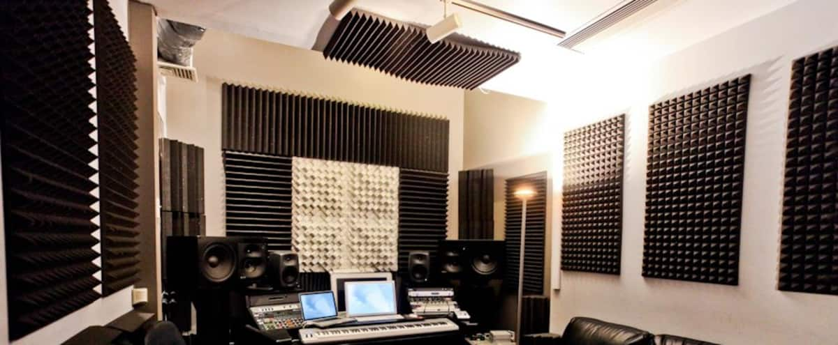 Full-Service Music Production Facility | Studio B in Boston Hero Image in Back Bay West, Boston, MA