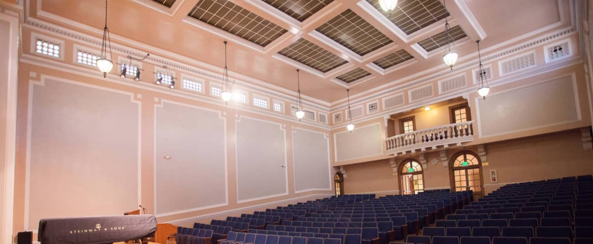 Elegant Theater With World Class Acoustics In Downtown San Jose Hero Image