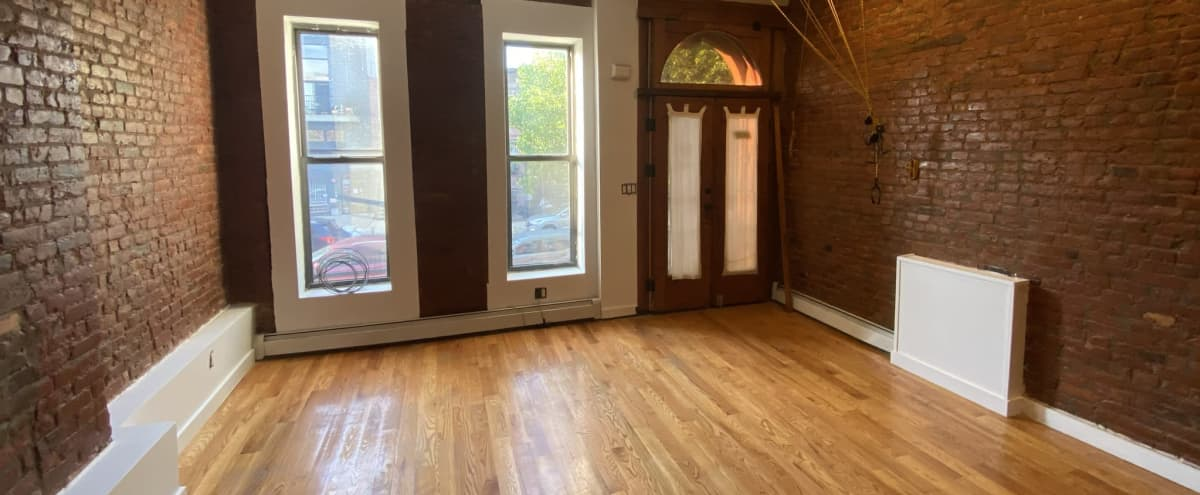 Spacious Brooklyn Brownstone Parlor Floor in Brooklyn Hero Image in Bedford-Stuyvesant, Brooklyn, NY