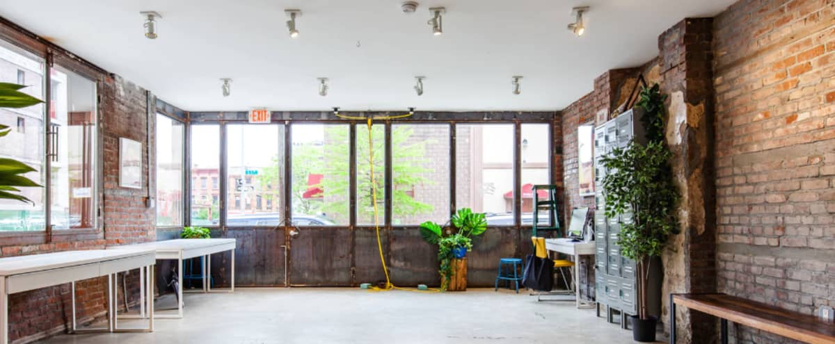 Event Space in a Creative Pre-War Building, Williamsburg, Brooklyn in Brooklyn Hero Image in Williamsburg, Brooklyn, NY