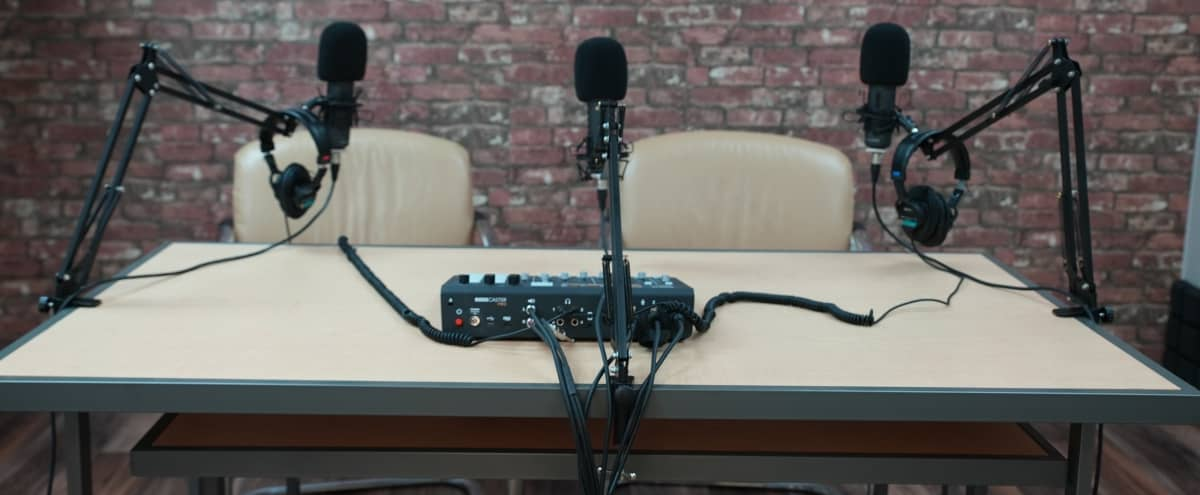 Podcast Studio Fully Equipped with Sound Equipment in Matthews Hero Image in undefined, Matthews, NC