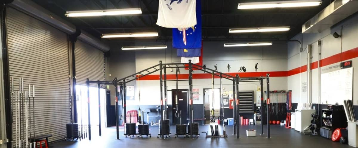 2000 sq. ft. CrossFit Gym within  Training Facility on Foothills of Mountain Range in Riverside Hero Image in undefined, Riverside, CA