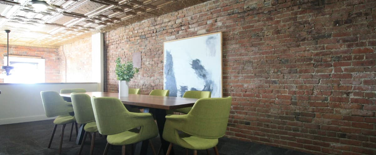 Urban Exposed Brick Office with Modern Touches and Old Charm in Tacoma Hero Image in New Tacoma, Tacoma, WA
