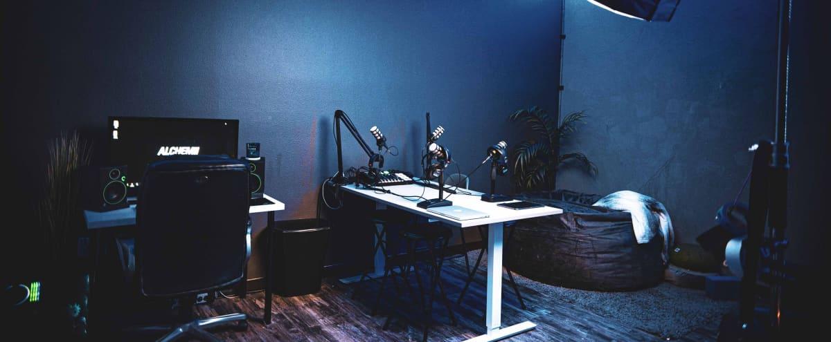 Podcast Station & Open Creative Space (Content Creation Studio) in Riverside Hero Image in Eastside, Riverside, CA