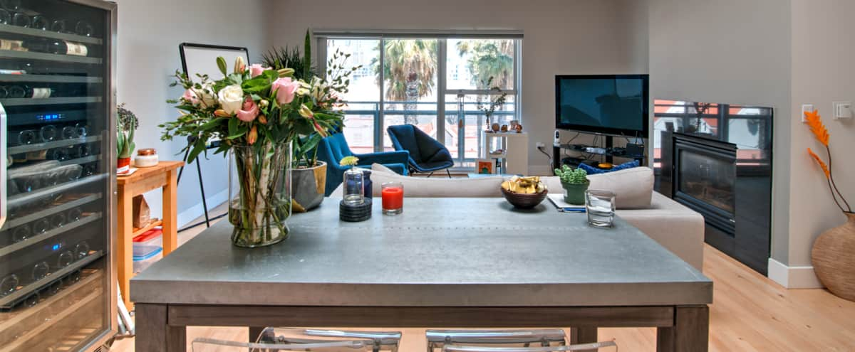 SOMA Loft with Spectacular Light + Park facing location in San Francisco Hero Image in South of Market, San Francisco, CA