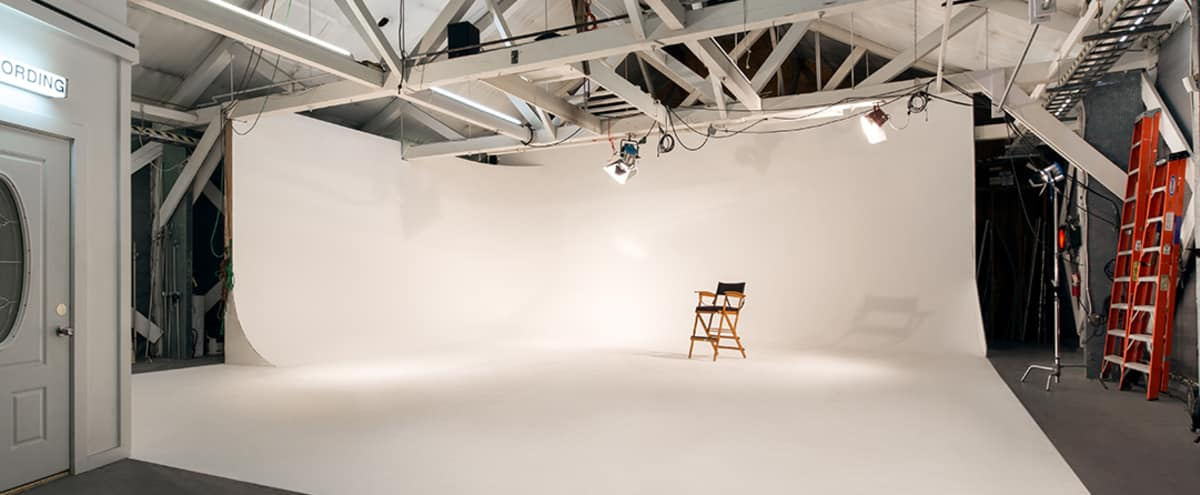 SODO District Studio and Event Space with Cyclorama Wall in Seattle Hero Image in Industrial District, Seattle, WA
