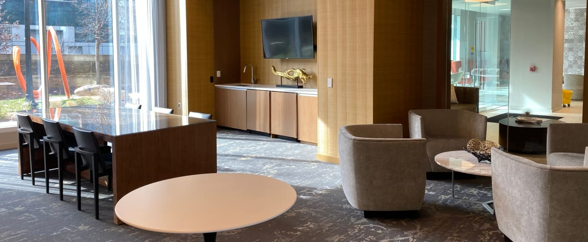 Stylish Club Room with 2 Conference Rooms Included in Washington Hero Image in NoMa, Washington, DC
