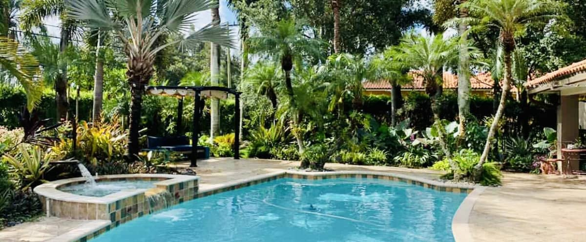 Tropical Oasis Perfect for Outdoor Photoshoots in Fort Lauderdale Hero Image in undefined, Fort Lauderdale, FL