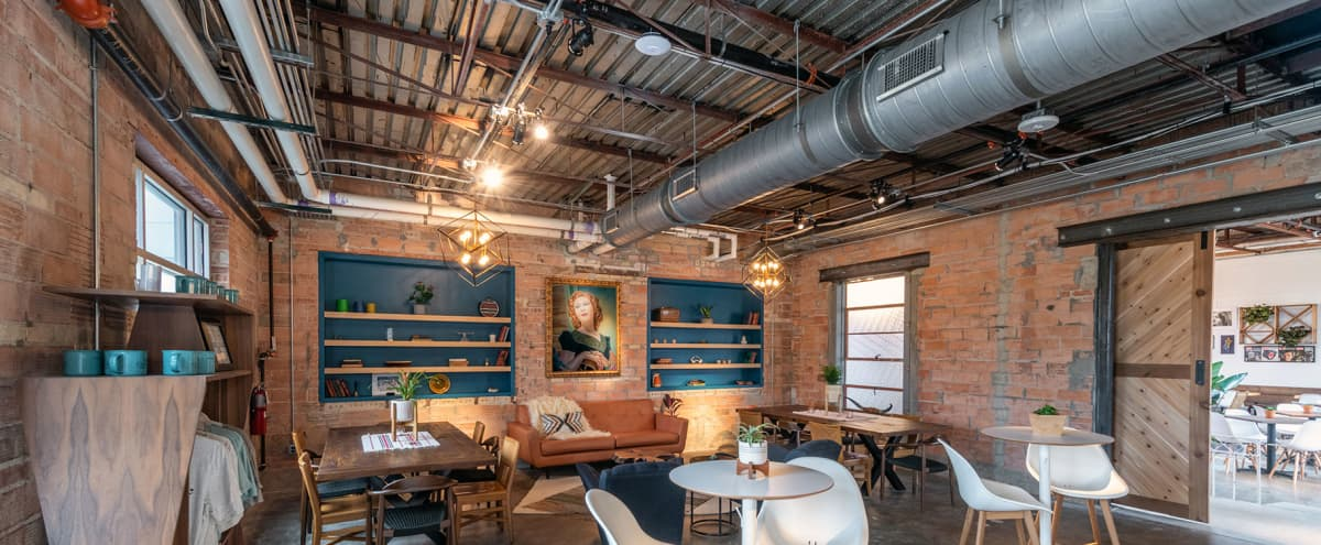 Massive designer rehabbed, downtown fire station with California vibes in Grand Prairie Hero Image in undefined, Grand Prairie, TX