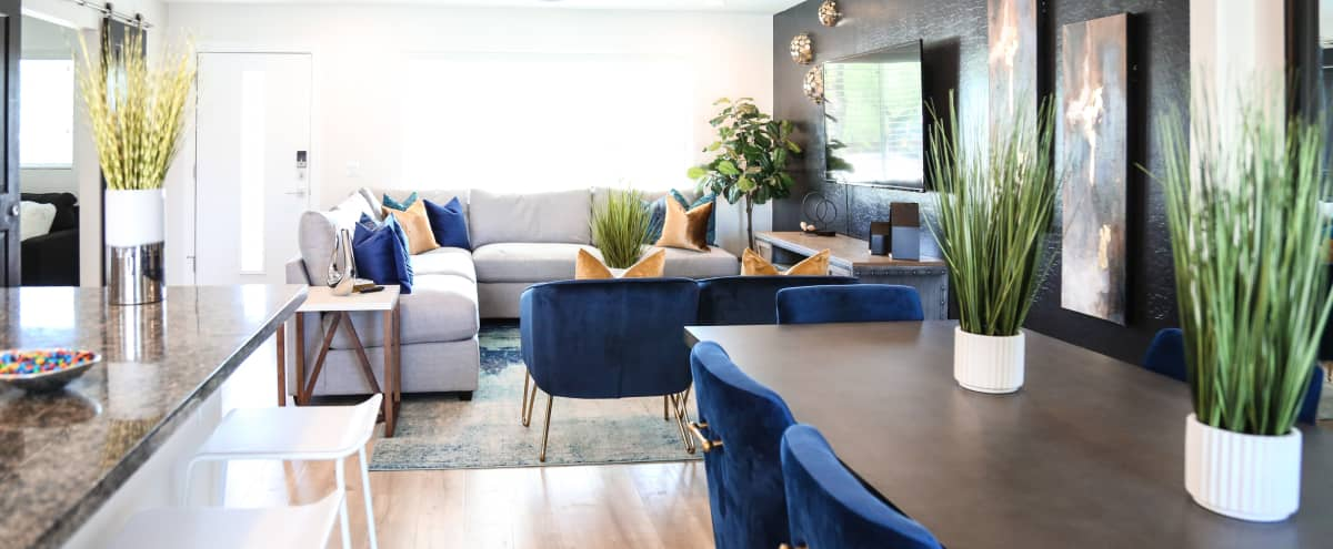 Meeting Retreat Modern Luxury Home In, Scottsdale Modern Furniture
