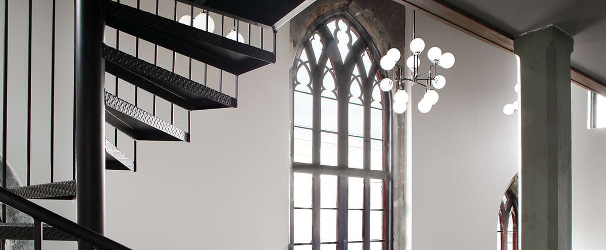 Renovated Church with Historic Windows and Choir Loft in Louisville Hero Image in East Market District, Louisville, KY