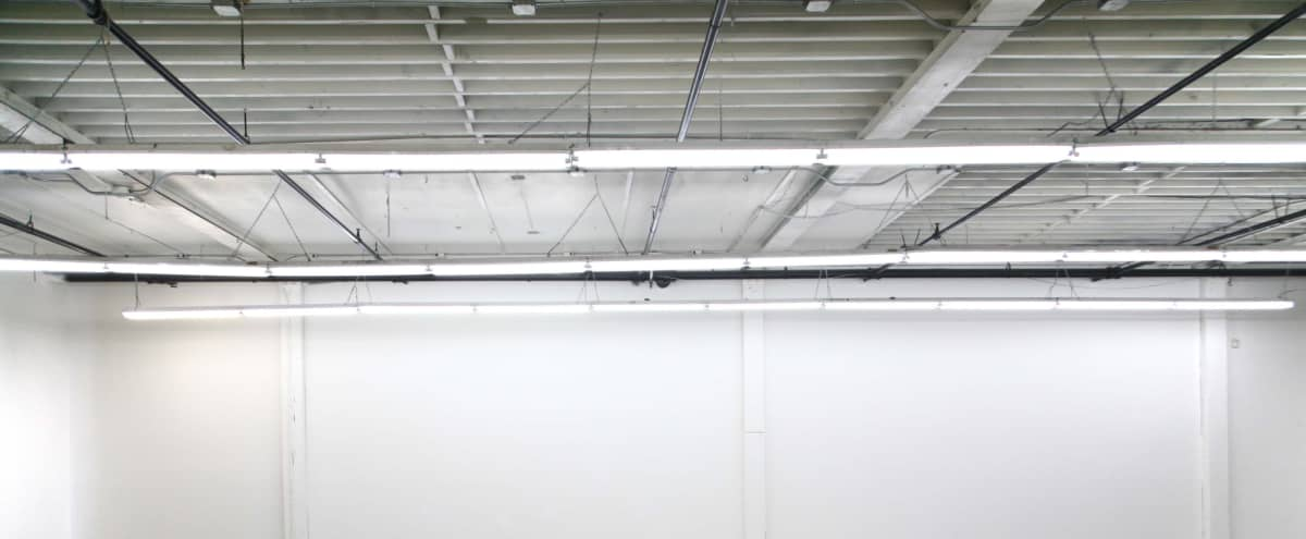 Clean, large, empty downtown industrial space. Lots of light. 12' ceilings. in Los Angeles Hero Image in Fashion District, Los Angeles, CA