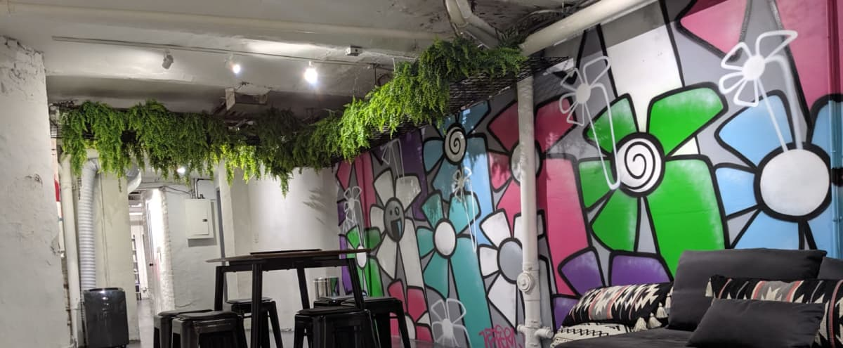 East Village Artistic Wellness Venue With Outdoor Space in New York Hero Image in Alphabet City, New York, NY