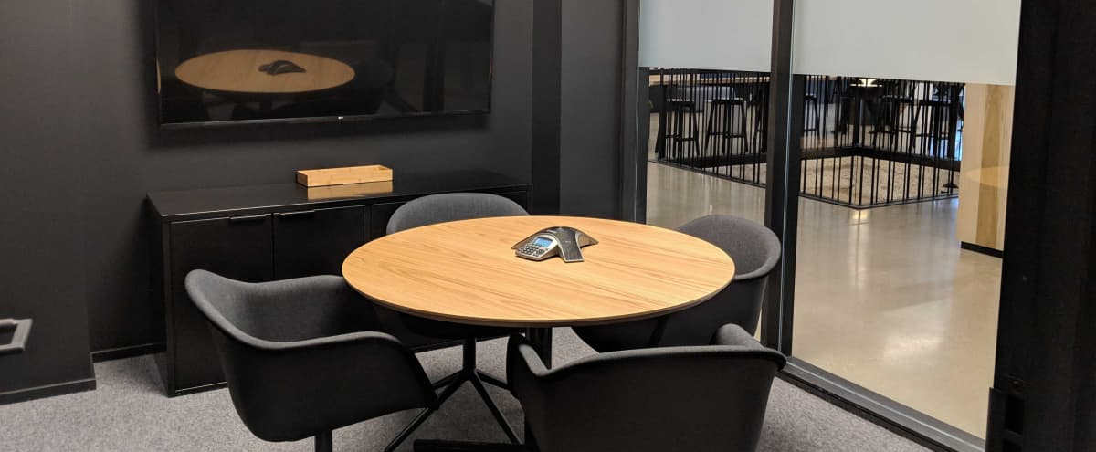 Equipped Small Meeting Room | M5 in Los Angeles Hero Image in Downtown Los Angeles, Los Angeles, CA