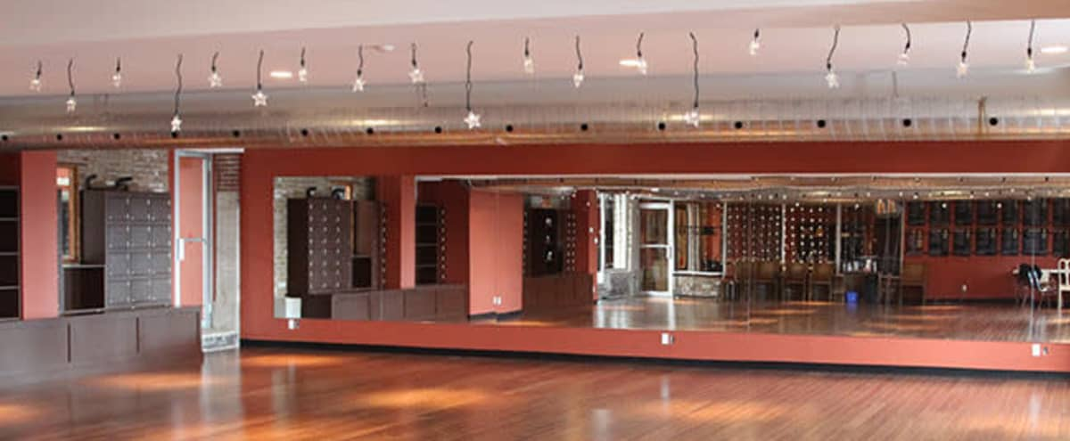 Spacious Dance Studio w/ 10 Foot Ceilings in Toronto Hero Image in Riverdale, Toronto, ON