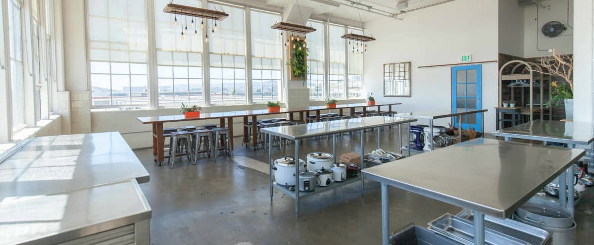Natural Light Semi-Industrial Space with Bay Views in San Francisco Hero Image in Dogpatch, San Francisco, CA
