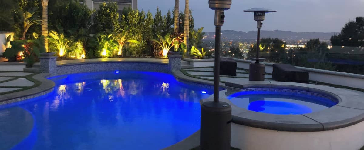 Private Gated Burbank Hills - Luxury Modern & Contemporary Home with Views in Burbank Hero Image in undefined, Burbank, CA