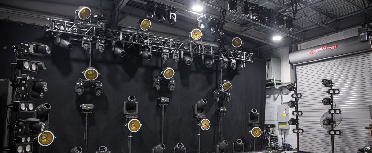 Live Stream Space with Arena Concert Lighting Rig in Middlesex Hero Image in undefined, Middlesex, NJ