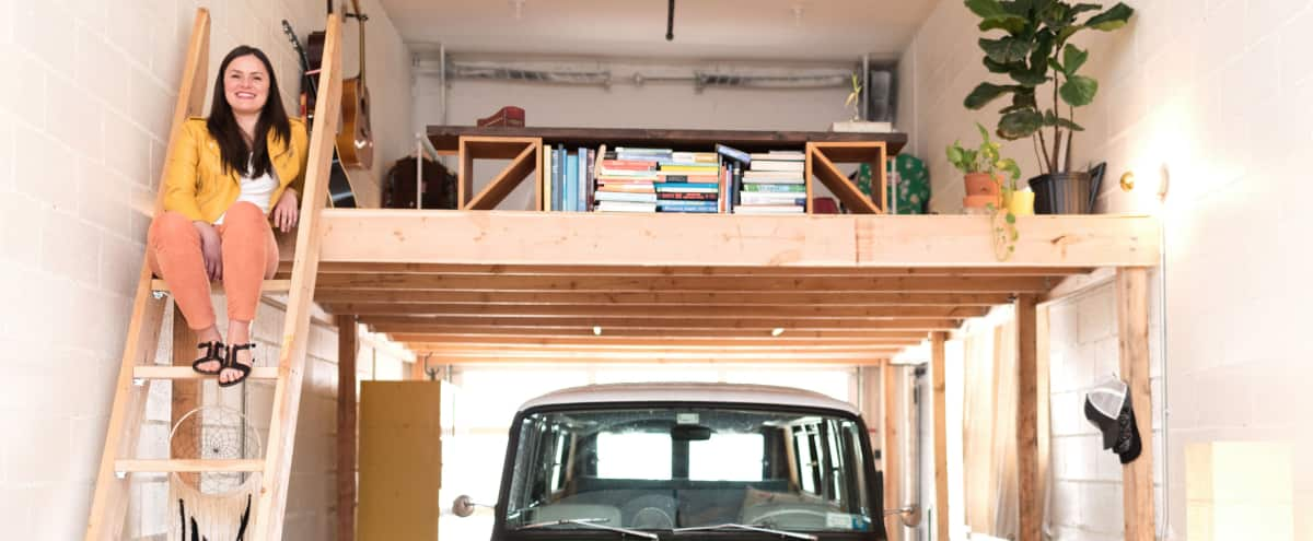 Unforgettable Garage Loft in Brooklyn Hero Image in East Williamsburg, Brooklyn, NY