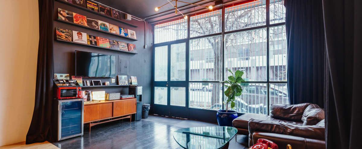 Cozy Private Full-Service Studio Located in Prime Williamsburg BK in Brooklyn Hero Image in Williamsburg, Brooklyn, NY