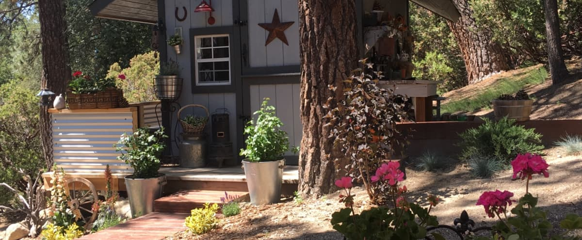 Mountain high artists studio, rustic with amazing landscape. in Idyllwild Hero Image in undefined, Idyllwild, CA