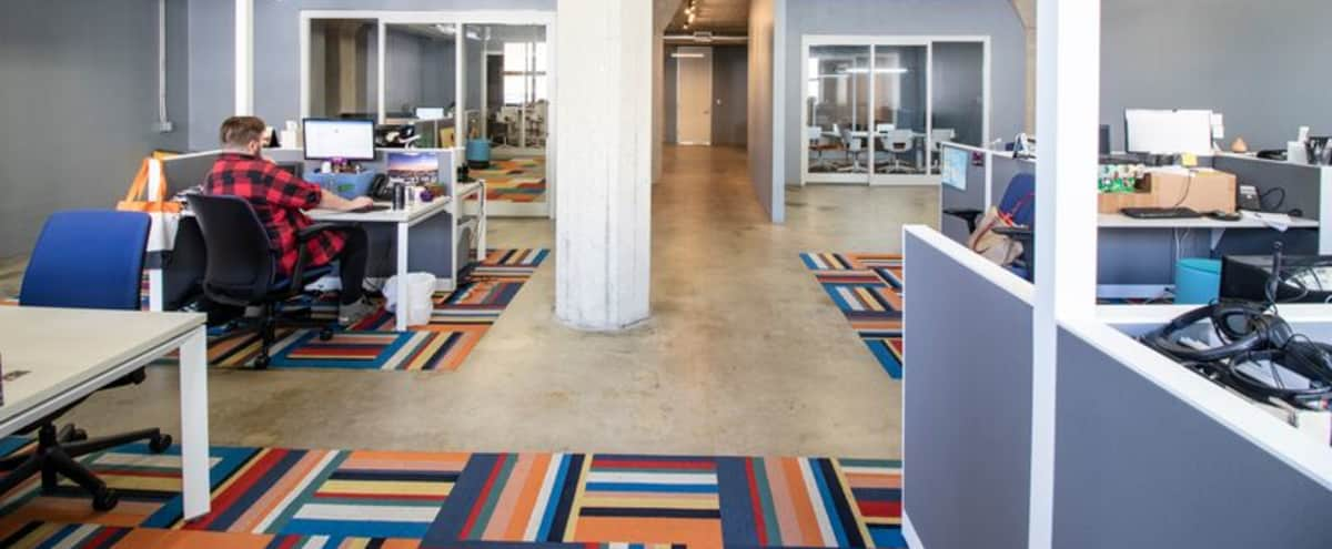 Industrial Office Space in Hip Downtown LA, Great Lighting with Open Conference Room and Kitchen in Los Angeles Hero Image in Central LA, Los Angeles, CA
