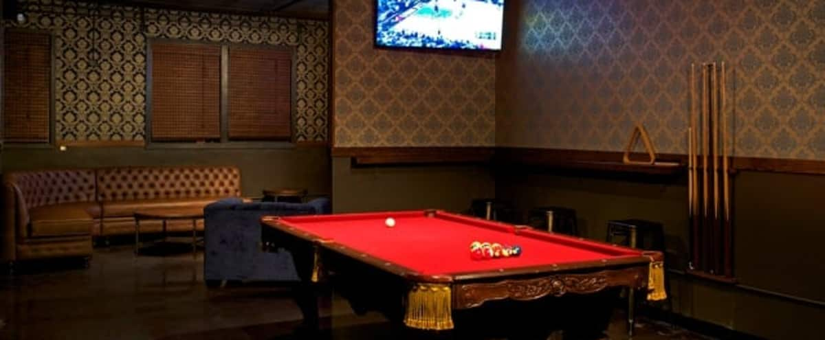 Upscale Lounge & Pool Table Semi-Private in Outer Mission in San Francisco Hero Image in Excelsior, San Francisco, CA