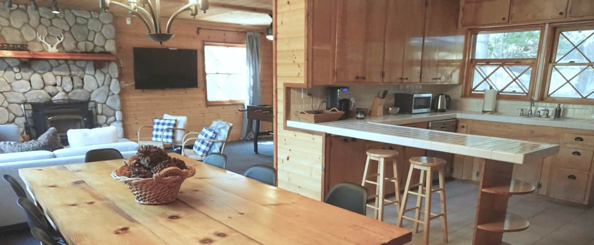 Classic, Updated 1960's Mountain Cabin with Spacious Private Lot in Big Bear Hero Image in undefined, Big Bear, CA