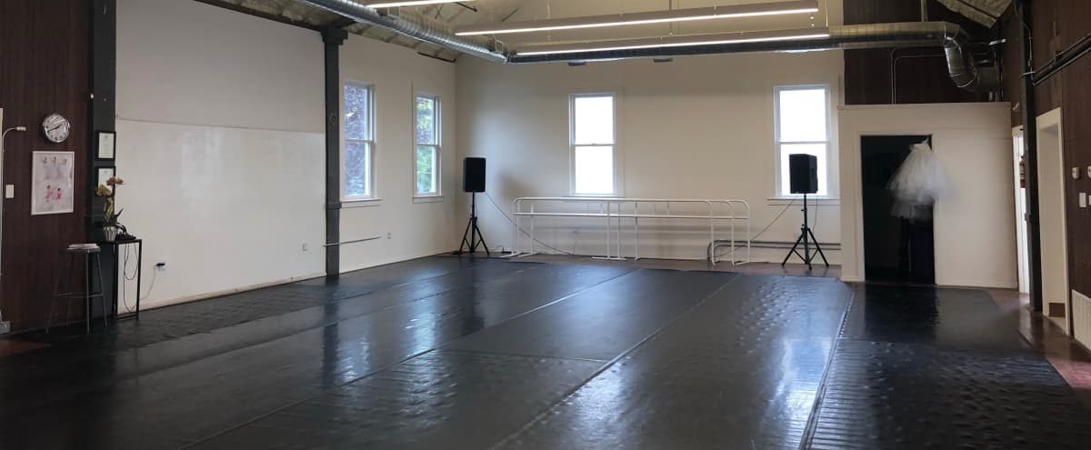 Spacious, beautiful, boutique space for dance, yoga, fitness, rehearsals, photo shoots and events in San Francisco Hero Image in Outer Mission, San Francisco, CA