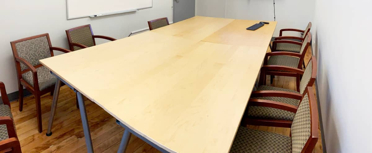 Turnkey Meeting Room | Video Conferencing + Whiteboard in Boston Hero Image in Chinatown, Boston, MA