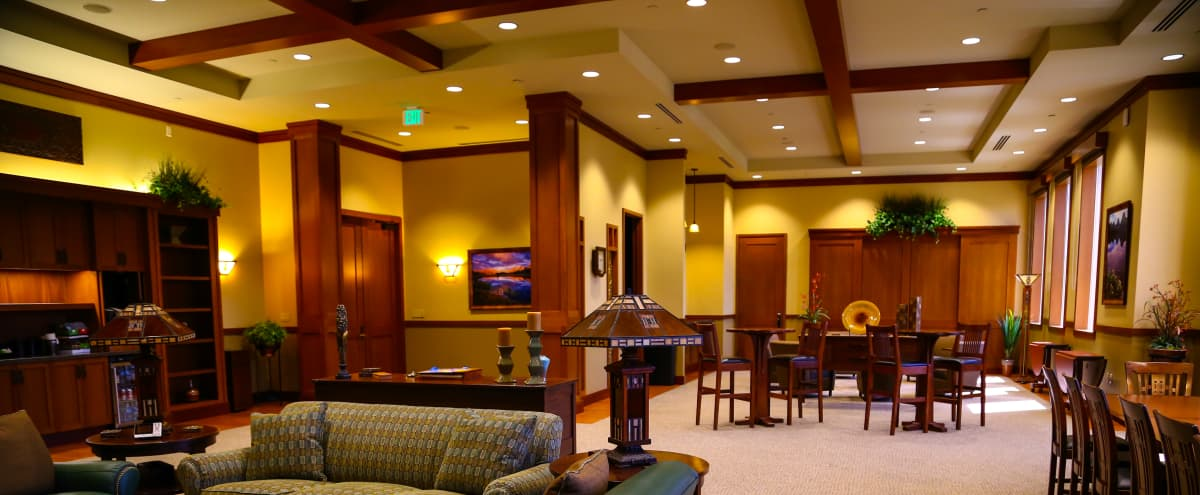 Roomy Craftman Style Penthouse Meeting and Retreat Space in Garden Grove Hero Image in undefined, Garden Grove, CA