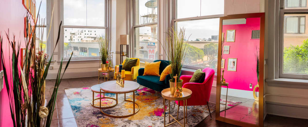 Beautiful Vibrant Downtown Loft with City Views in Los Angeles Hero Image in Central LA, Los Angeles, CA