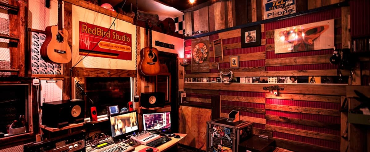 Recording Studio in the Heart of Midtown New York City in New York Hero Image in Midtown, New York, NY
