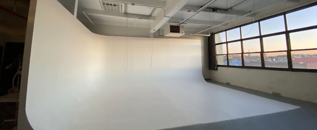 Large Cyc Film & Photo Studio Space with great Natural Light!! in Brooklyn Hero Image in Sunset Park, Brooklyn, NY