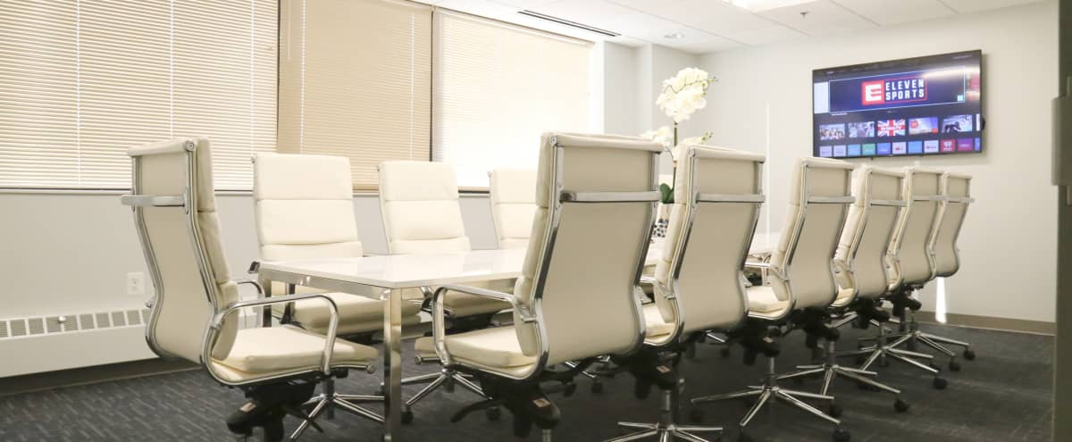 Bright, Contemporary Boardroom with AV System - Seats 14 in Silver Spring Hero Image in undefined, Silver Spring, MD