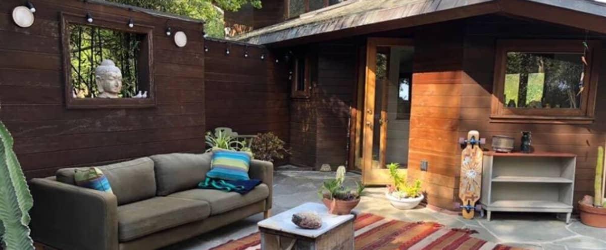 Topanga Cool Rustic Modern Owl Nest Space with Epic Style in topanga Hero Image in undefined, topanga, CA
